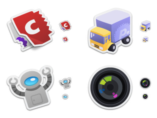 Freebies Icons - Iconfactory : Freeware : Sticker Pack 2
