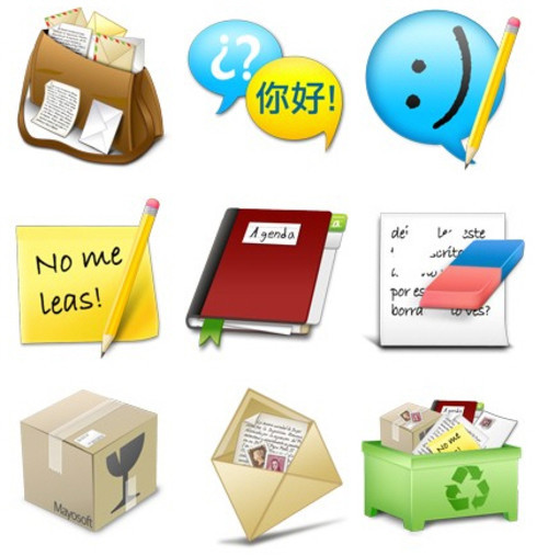 Freebies Icons - email me by ~Mayosoft