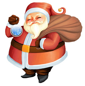 santa rastor 1 Christmas Design Resources: Santa Claus