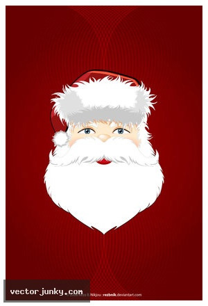 santa vector 2 Christmas Design Resources: Santa Claus