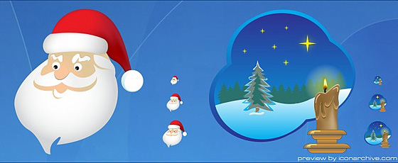 standard xmas icons Christmas Design Resources: Santa Claus