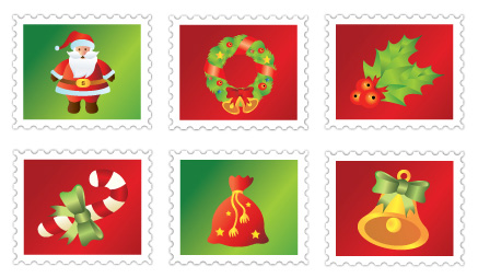 xmas icon set 2 Christmas Design Resources: Santa Claus