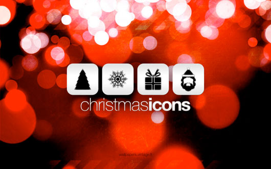 christmas icons 50 Christmas and New Year Desktop Wallpapers