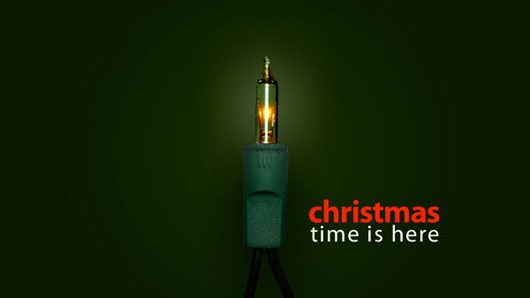 christmas light wallpaper 50 Christmas and New Year Desktop Wallpapers